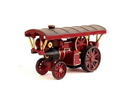 Arch Laser A3D0056 N Gauge Showmans Traction Engine Painted